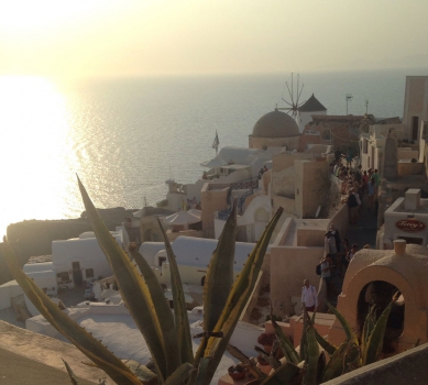Travel post # Santorini (Greece)