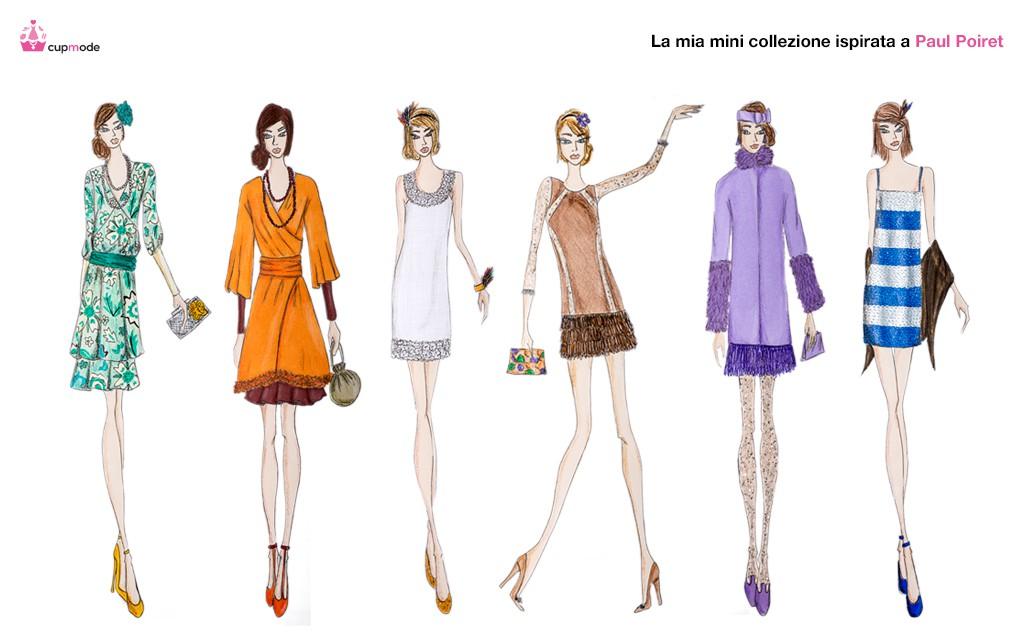 Crea la tua collezione di abbigliamento in tre passi