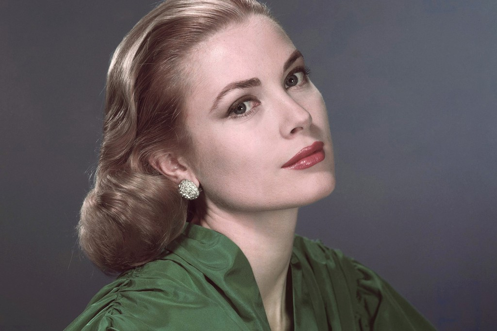 This undated file photo shows Grace Kelly. The childhood home of the Hollywood icon is the subject of a cat-hoarding investigation. Officials with the Pennsylvania Society for the Prevention of Cruelty to Animals said Thursday, Oct. 31, 2013, they went to the house in the city's leafy East Falls neighborhood after receiving a complaint on its cruelty hot line. (AP Photo, file)