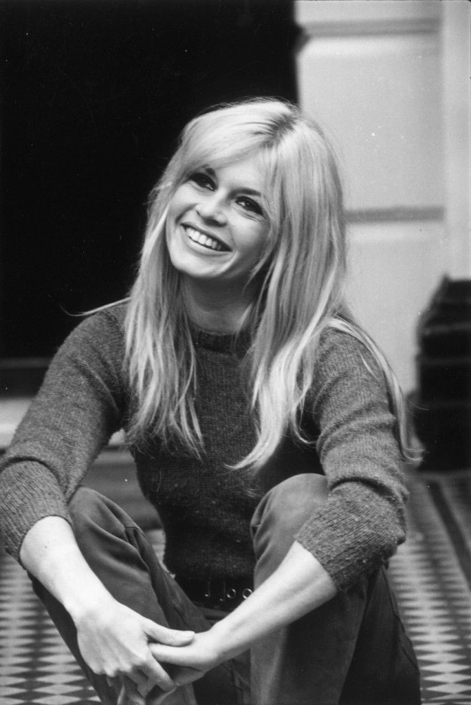 French actress Brigitte Bardot at a London Hotel. (Photo by Cattani/Getty Images)