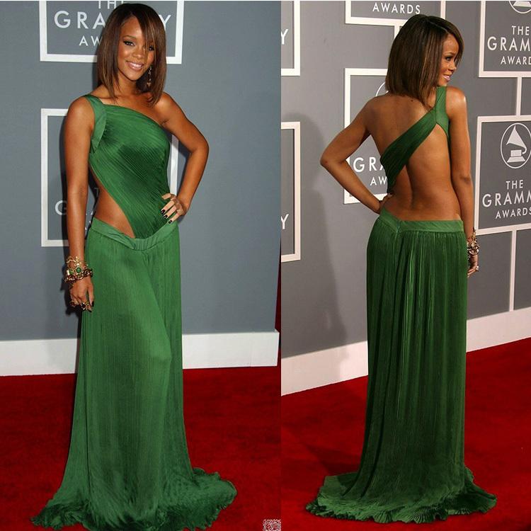 -font-b-Rihanna-b-font-font-b-Green-b-font-font-b-Dress-b-font