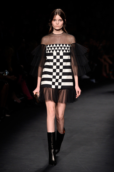 PARIS, FRANCE - MARCH 10: A model walks the runway during the Valentino show as part of the Paris Fashion Week Womenswear Fall/Winter 2015/2016 on March 10, 2015 in Paris, France. (Photo by Pascal Le Segretain/Getty Images)