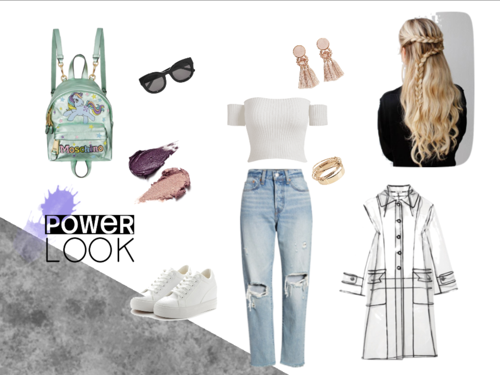My Little Pony Polyvore casual look