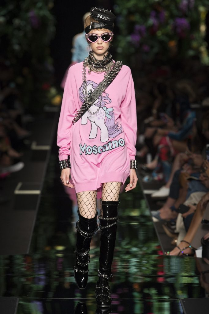 Moschino capsule collection unicorn spring summer 2018